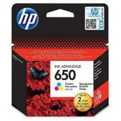 Črnilo HP CZ102AE (650), barvno