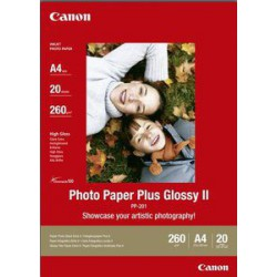Foto papir Canon PP-201 glossy, A40 (20/1)- 2311B019AA