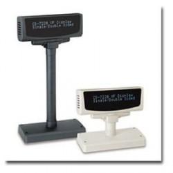Prikazovalnik za stranke Partner CD-7220, USB, črn