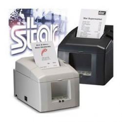 Blagajniški termalni tiskalnik STAR TSP-654U črn, USB z nožem