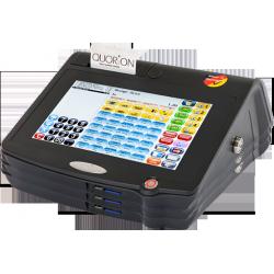 Registrska - POS davčna blagajna QUORiON QTouch10, 80 mm termo tiskalnik z nožem