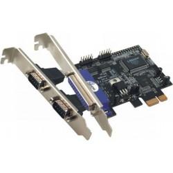 Kartica PCI-e 2x serijski + 1x paralelni priključek, St-lab I-294