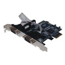 Kartica 2x serijski port, PCIe, ST-Lab I-360