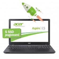 Prenosnik Acer E5-573-P8Z5, Pentium 3556U, 4GB, SSD 120GB + 500GB USB disk