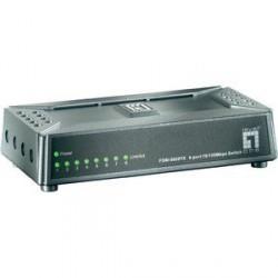 Stikalo (switch) 8 port 10/100, LevelOne FSW-0808TX, magnetno podnožje
