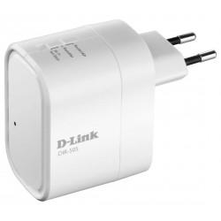 Usmerjevalnik (router) brezžični prenosni D-Link DIR-505, funkcija repetitorja