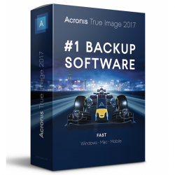Acronis True Image 2017 (3 licence)