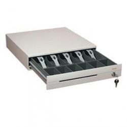 Predalnik za denar Posiflex CR4000, bel, POS priklop