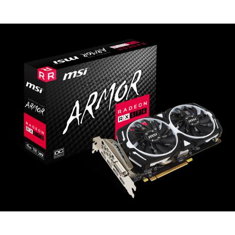 Grafična kartica Radeon RX 570 OC 4GB MSI Armor
