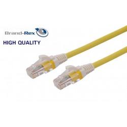 Kabel UTP CAT.5e patch 2m Leviton rumen LSOH