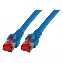 Priključni kabel za mrežo Cat6 S/FTP 20m moder