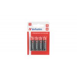 Baterija alkalna AA 1.5V 4/1 Verbatim 49921