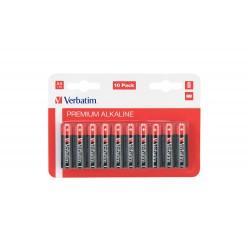 Baterija alkalna AA 1.5V 10/1 Verbatim 49875
