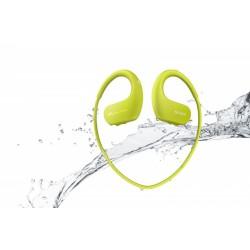 MP3 predvajalnik Sony BT walkman NW-WS413, limetino zelen