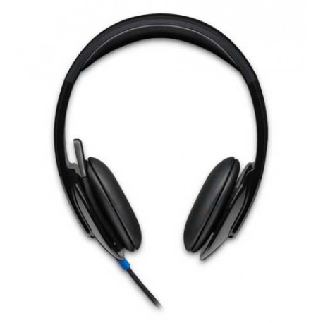 Slušalke z mikrofonom Logitech H540 stereo, USB, črne