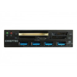 Chieftec all-in-one čitalec kartic 4x USB 3.0 port 3.5 panel