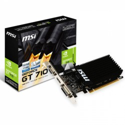 Grafična kartica GeForce GT 710 1GB MSI silent LP