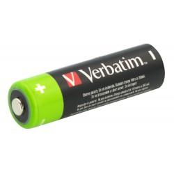 Baterija polnilna AA 1.2V 2600mAh 4/1 Verbatim 49941