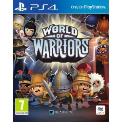 Igra  World Of Warriors za Playstation PS4