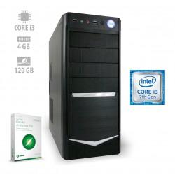 Osebni računalnik ANNI HOME Optimal / i3-7100 / SSD / CX3
