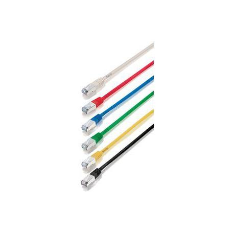 Priključni kabel za mrežo Cat5e FTP 10m oranžen LSZH, Nexans
