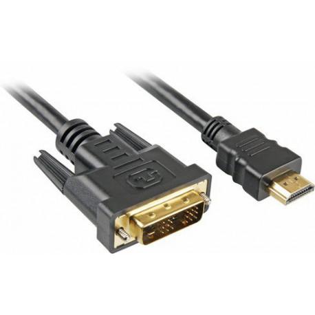Kabel HDMI - DVI-D (18+1) M/M
