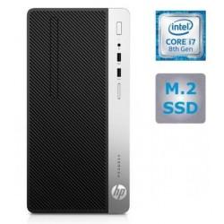 Računalnik HP ProDesk 400 G5,i7-8700, 8GB, SSD 256, W10P (4CZ33EA)
