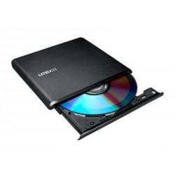 Zunanji DVD zapisovalnik Liteone ES1, črn