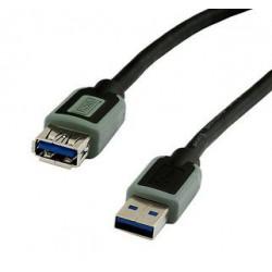 Kabel USB 3.0 podaljšek A-A M/Ž 1.8m