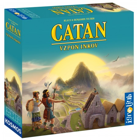 Družabna igra Catan - Vzpon Inkov