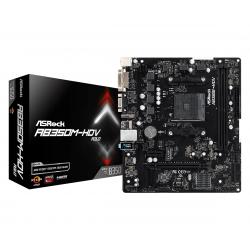 Matična plošča AsRock AB350M-HDV R3.0, DDR4,  AM4, mATX