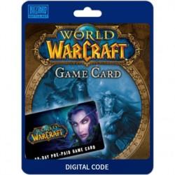 Igra World of Warcraft Game Card
