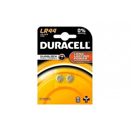 Gumb baterija LR44 Duracell 2 kosa