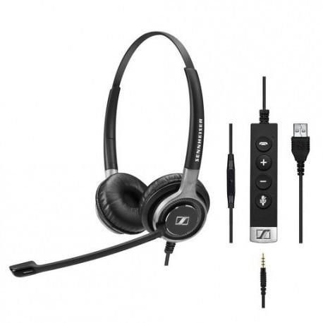 Slušalke Sennheiser SC 665 USB