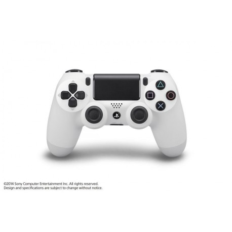 Brezžični igralni plošček za PS4 Dualshock4 V2, bel