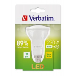 Sijalka Verbatim LED E14 3.8W-35W ND 2700K
