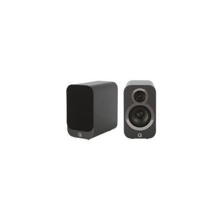 Zvočniki Hi-Fi Q Acoustics 3010i Grafitno siva, Par kompaktnih zvočnikov