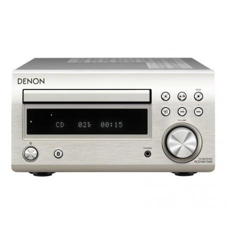 Denon RCD-M41DAB receiver srebrn