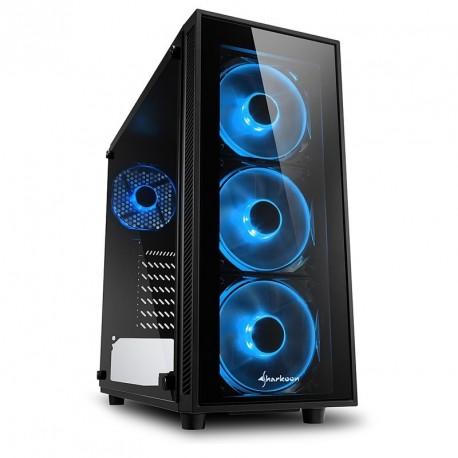 Ohišje ATX SHARKOON TG4 Blue LED
