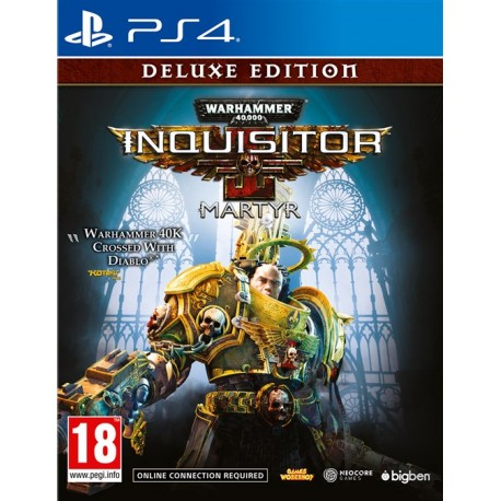 Igra Warhammer 40.000: Inquisitor - Martyr - Deluxe Edition (PS4)