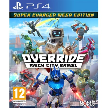 Igra Override: Mech City Brawl - Super Charged Mega Edition (PS4)