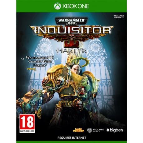 Igra Warhammer 40.000: Inquisitor - Martyr (Xone)