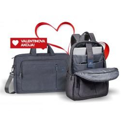 Komplet torbica in nahrbtnik za prenosnik do 15.6 RivaCase 7530 in 7560