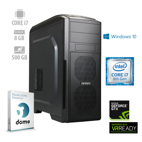Osebni računalnik ANNI GAMER Extreme / i7-8700 / GTX 1060 / SSD / W10 / PF7G