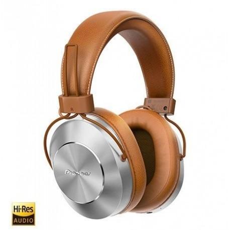 Slušalke Pioneer SE-MS7BT-T, srebrne/bež