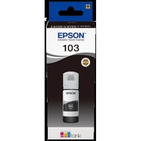 Črnilo Epson C13T03V14A steklenička, črno