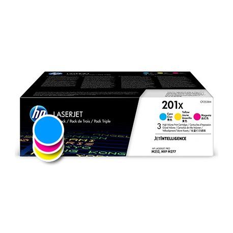 Toner HP 201X barven tri-pack (CF253XM)