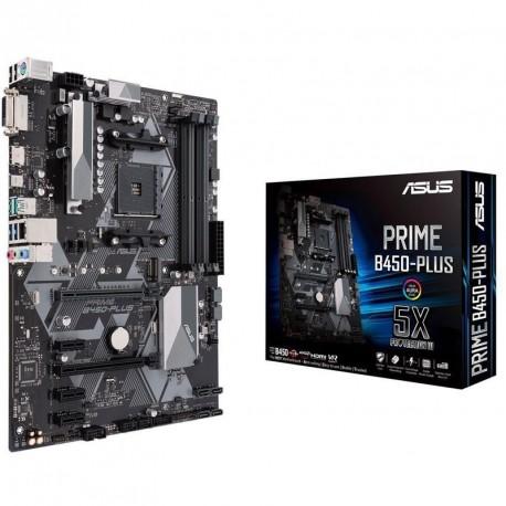 Matična plošča ASUS PRIME B450-Plus, DDR4 AM4 ATX