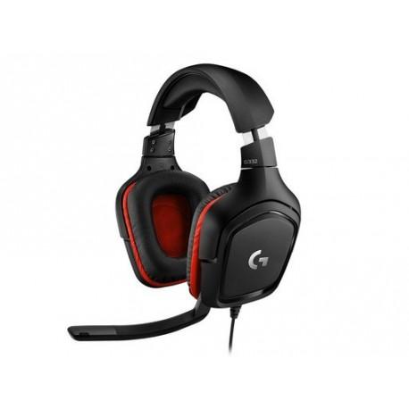Slušalke Logitech G332 Gaming Leatheratte