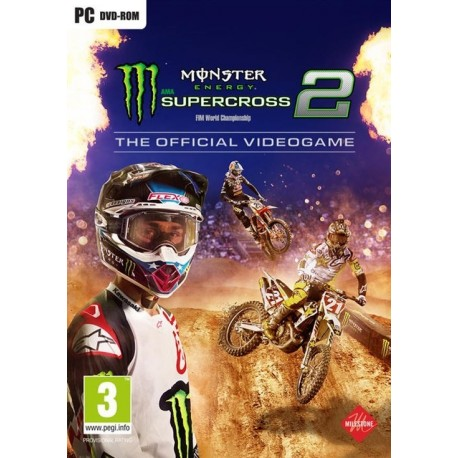 Igra Monster Energy Supercross: The Official Videogame 2 (PC)